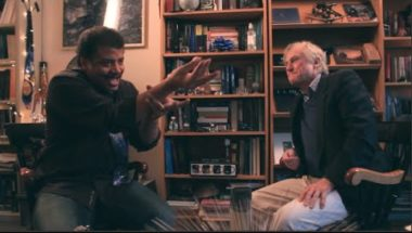 Richard Dawkins Conversation with Neil deGrasse Tyson at Hayden Planetarium