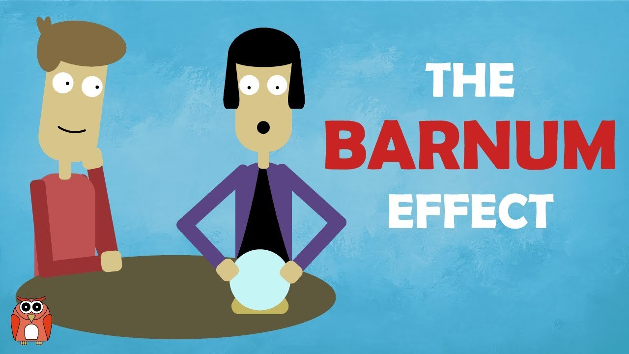 barnum effect era Coined by psychologist paul meehl in 1956, the barnum effect describes our tendency to recognize and agree with personality traits that seem to be tailored specifically for us, even when they're.