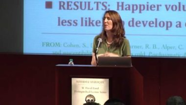 Sonja Lyubomirsky: The Science of Happiness