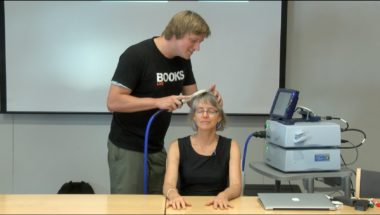 Brain zapping via Transcranial Magnetic Stimulation