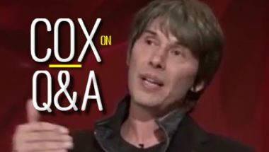 Brian Cox responds to climate change denier