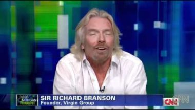 Richard Branson diplomatic but so honest answering tough questions on God