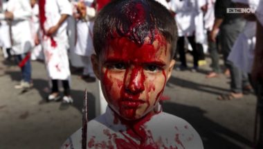 Shia Muslims flog themselves on Holy Day of Ashora