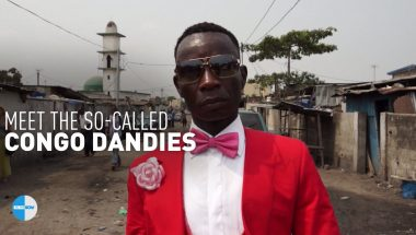 """Congo Dandies'' devote their lives to high fashion while living in deep poverty"