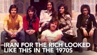 Footage of Iran in the 1970s shows a HUGE contrast between then and now