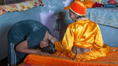 "Indian Teen With ""Tail"" Worshipped As God"