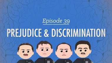 Crash Course Psychology #39: Prejudice & Discrimination