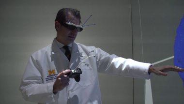 Migraine Brain in University of Michigan 3-D Lab