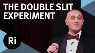 Jim Al-Khalili: Double Slit Experiment explained!