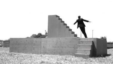 Yoann Bourgeois: Fugue / Trampoline sur Metamorphosis II