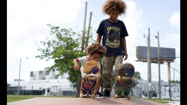 The Amazing Skateboard Brothers Aged 8 And 2