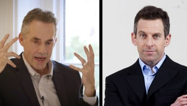 Sam Harris questions Jordan Peterson's fixation on Christianity