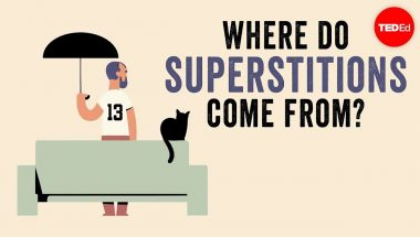 Where do superstitions come from?