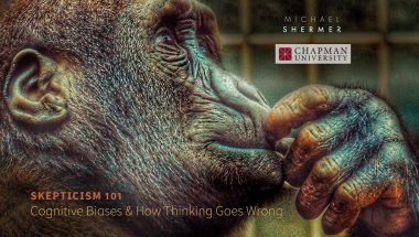 Michael Shermer on Cognitive Biases & How Thinking Goes Wrong (and Right!)
