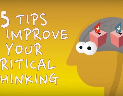 5 tips to improve your critical thinking