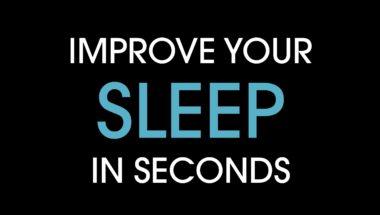 In59seconds: Improve your sleep in seconds