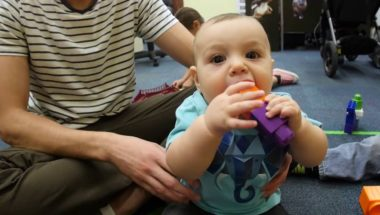 Babies are language sponges, even with sign language