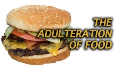 The adulteration of food for convenience