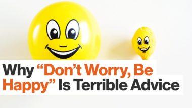 Susan David: How Forcing Positivity Can Create Despair