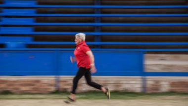 85-Year-Old Granny Sprints for Gold