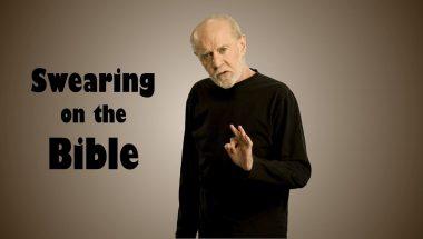 George Carlin: Swearing on the Bible