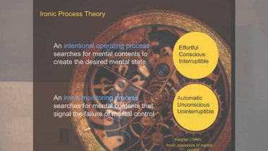Daniel Wegner: The Art and Science of Thought Suppression