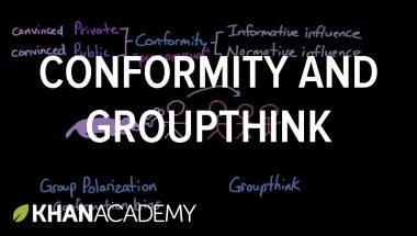 Conformity and groupthink