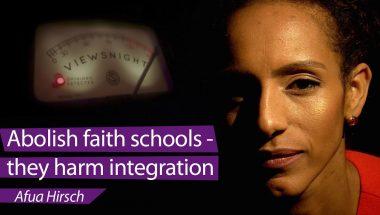 Afua Hirsch: 'Faith schools harm integration'