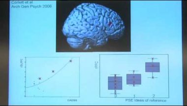 Paul Fletcher: Perception and Deception in the Psychotic Brain