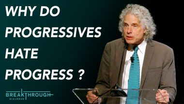 Steven Pinker: Why do progressives hate progress?