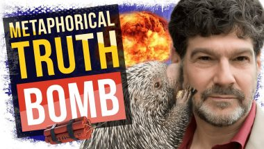 Metaphorical Truth Bomb | A New Way to Understand Religion (Bret Weinstein)
